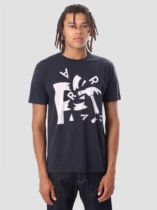 By Parra Shattered T-Shirt Navy Blue 40980