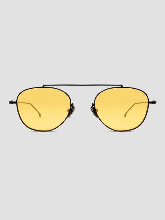 Komono Sheldon Sunglasses Black Yellow KOM-S4552