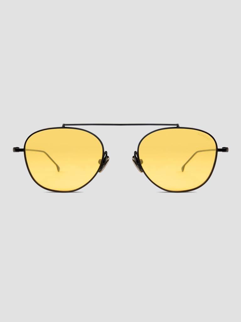 Komono Komono Sheldon Sunglasses Black Yellow KOM-S4552