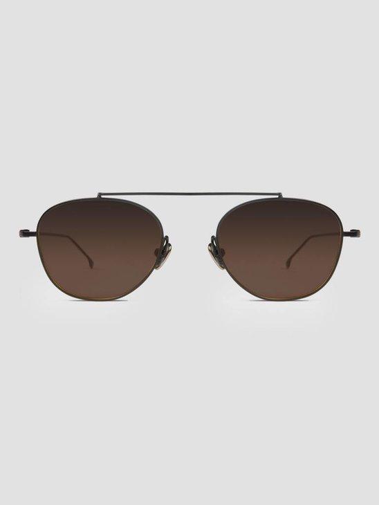 Komono Sheldon Sunglasses Black Brown KOM-S4554