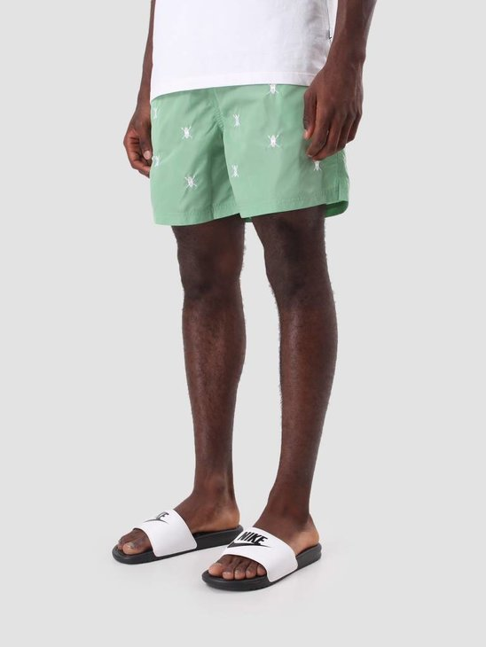 Daily Paper Shield Logo Swimshort Mint 3107