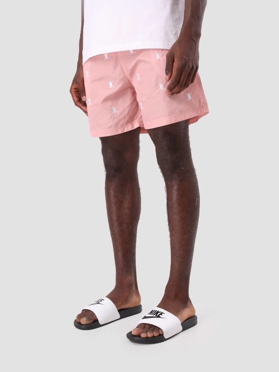 Daily Paper Shield Logo Swimshort Pink 3107