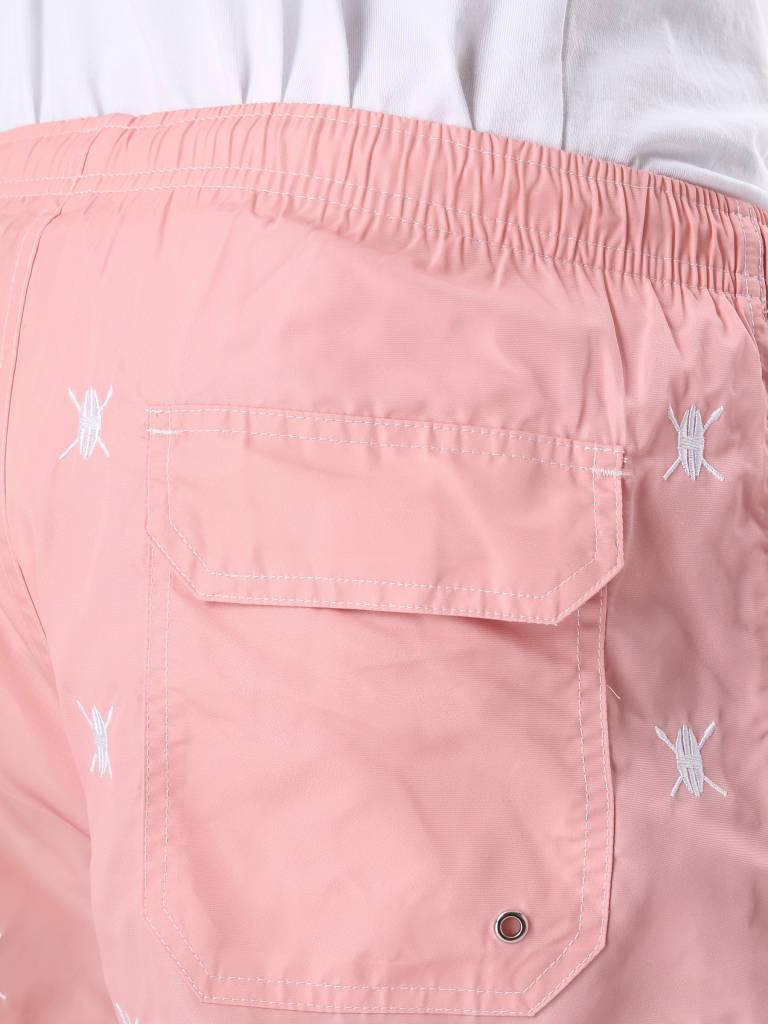 Daily Paper Daily Paper Shield Logo Swimshort Pink 3107