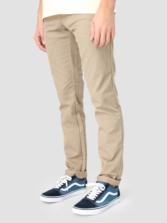 Carhartt Sid Pant Lamar Stretch Twill Leather Rinsed I003367-8Y