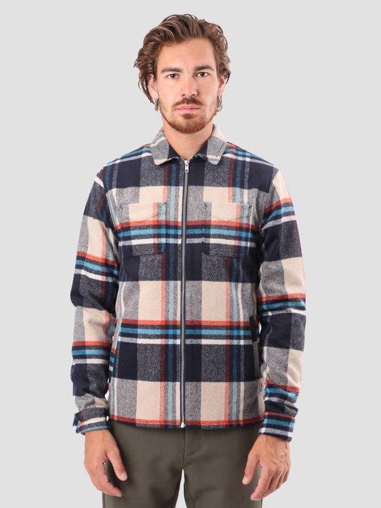 RVLT Sigurd Heavy Shirt Navy 3647