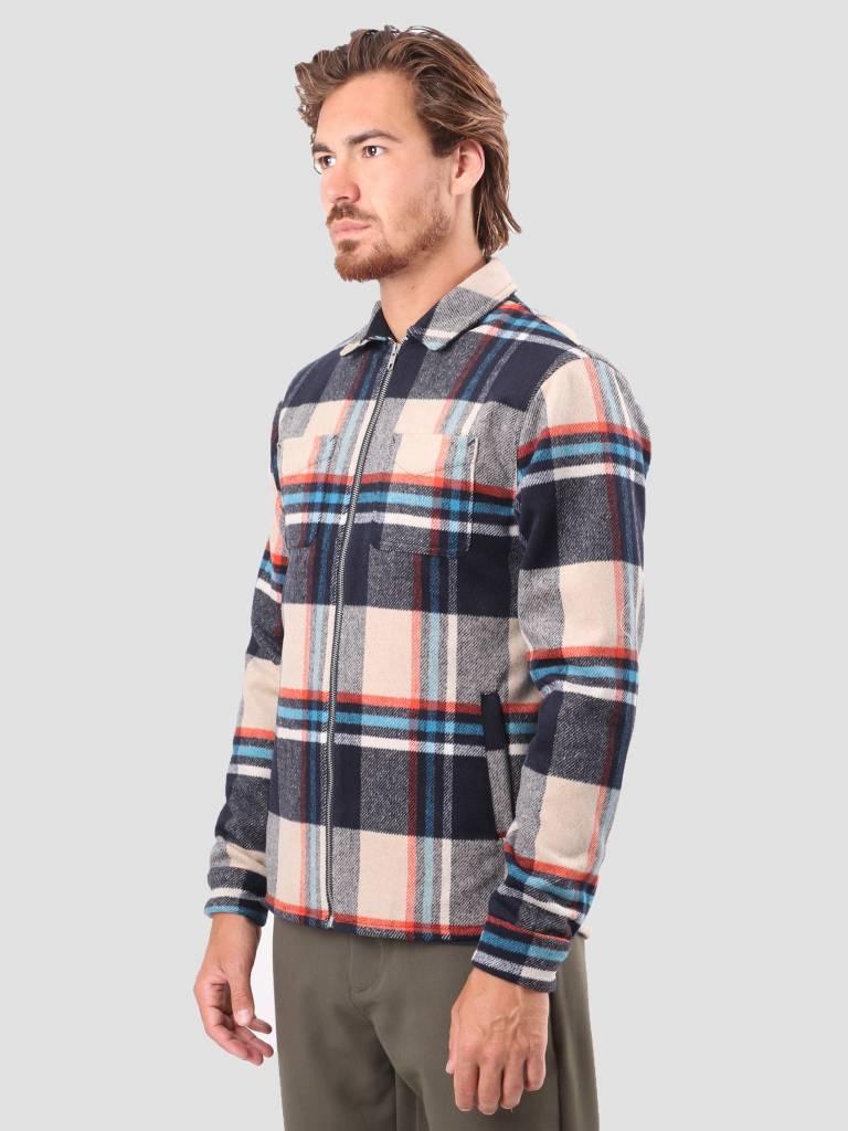 RVLT RVLT Sigurd Heavy Shirt Navy 3647