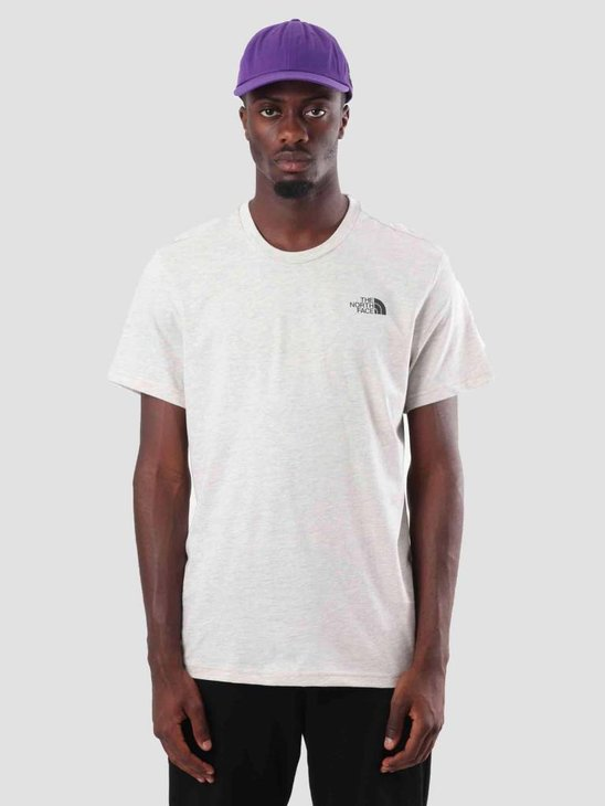 The North Face Simple Dome T-Shirt Wild Oatmeal Heather