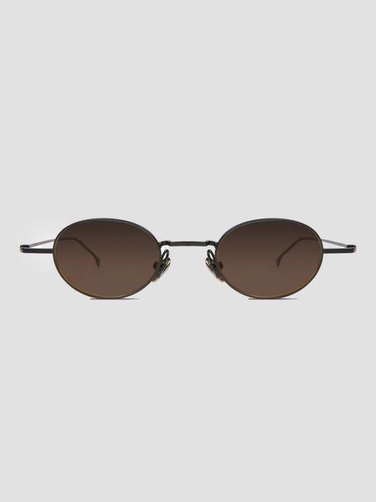 Komono Sinclair Sunglasses Black Brown KOM-S4402