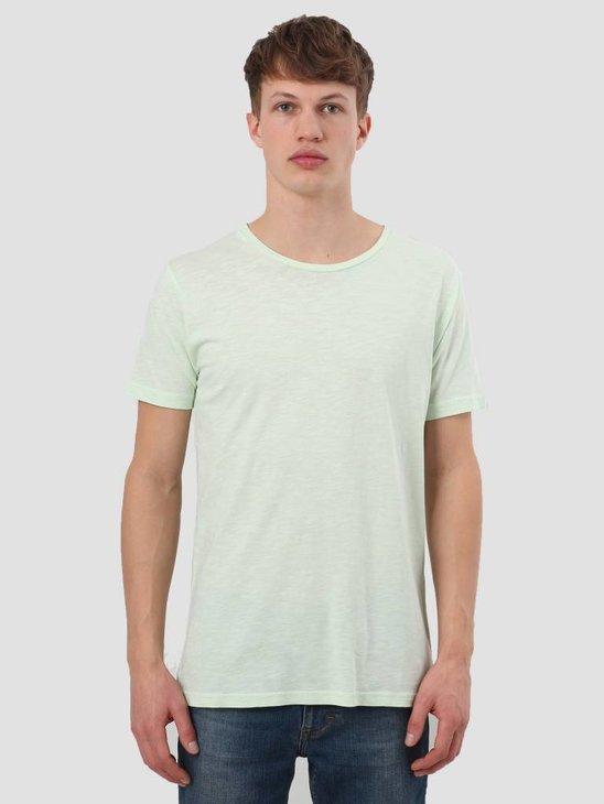 RVLT Slub T-Shirt Light Green 1010