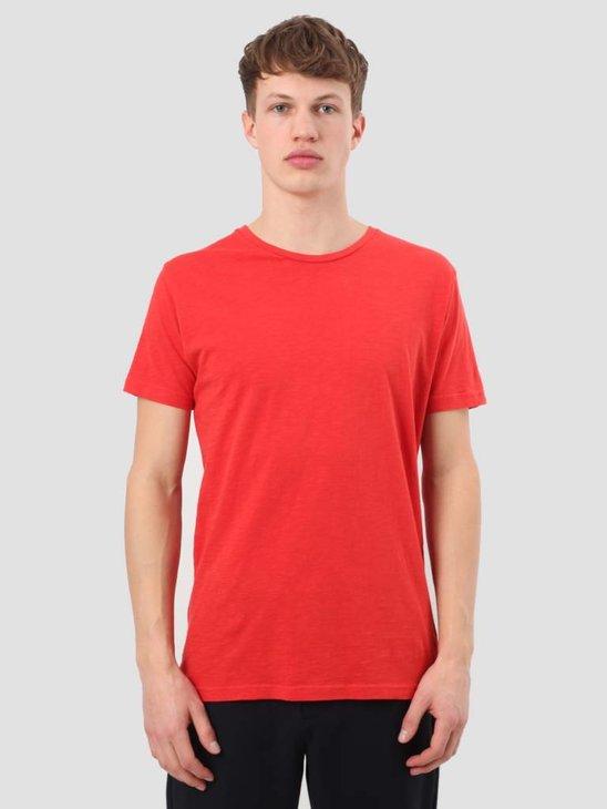 RVLT Slub T-Shirt Red 1010