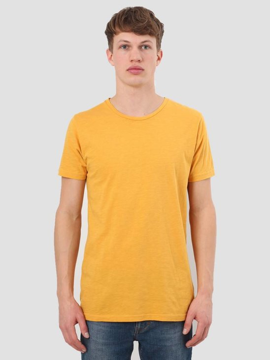 RVLT Slub T-Shirt Yellow 1010