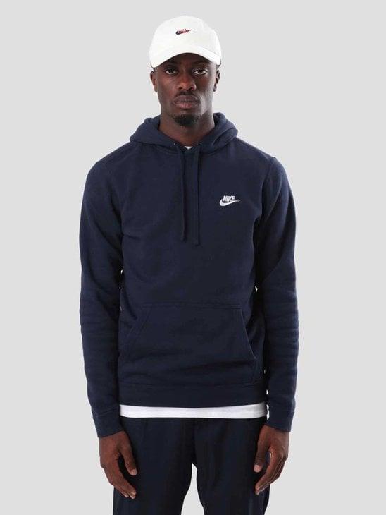 Nike Sportswear Hoodie Obsidian Obsidian White 804346-451