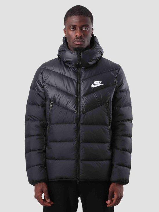 Nike Sportswear Windrunner Black Black Black White 928833-010