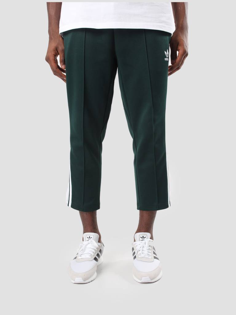 adidas adidas SST Relax Cropped Trackpants Green Night White BR6826