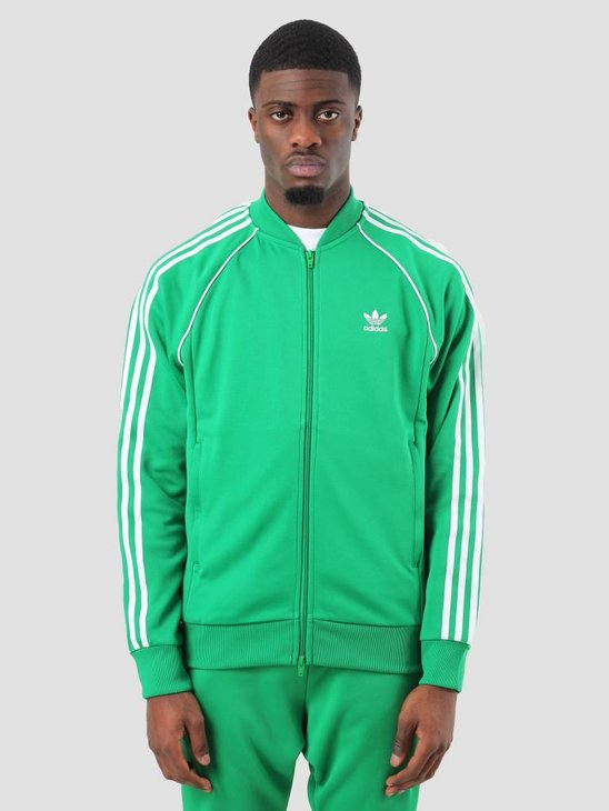 adidas SST Track Top Green CW1259