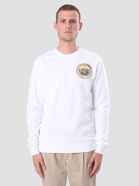 Les Deux State Of Hawaii Sweater White LDHS18001