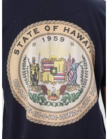 Les Deux Les Deux State Of Hawaii T-Shirt Navy LDHS18013