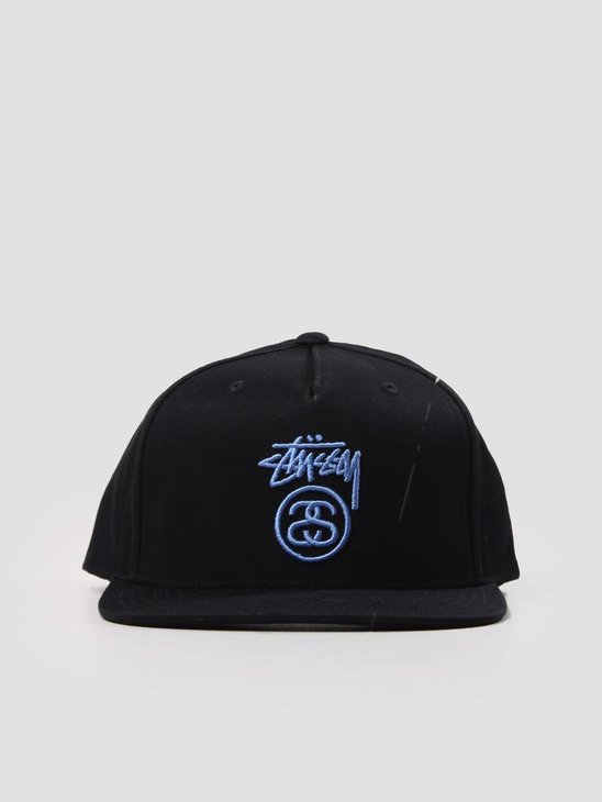 Stussy Stock Lock Su18 Cap Black 131805