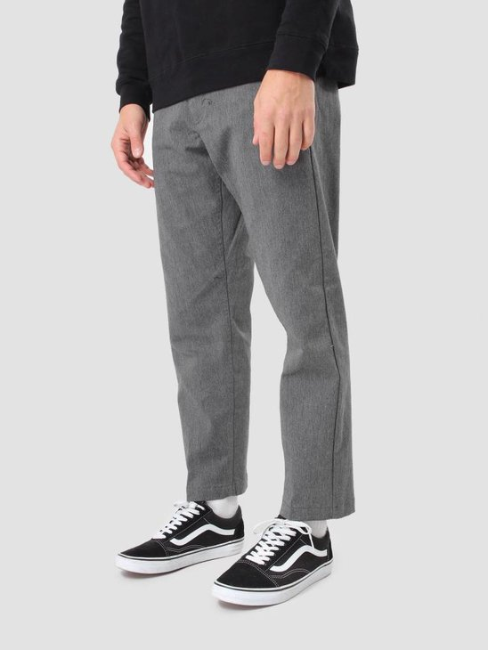 Obey Straggler Flodded Pant Heather Grey 142020060