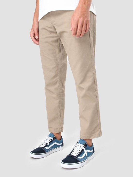Obey Straggler Flodded Pant Khaki 142020060-Kha
