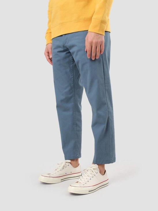 Obey Straggler Flooded Pant Blue 142020060
