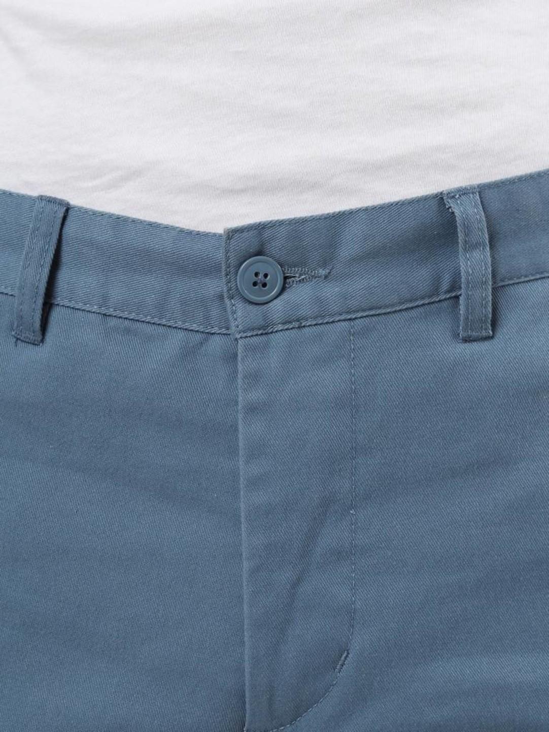 Obey Obey Straggler Flooded Pant Blue 142020060