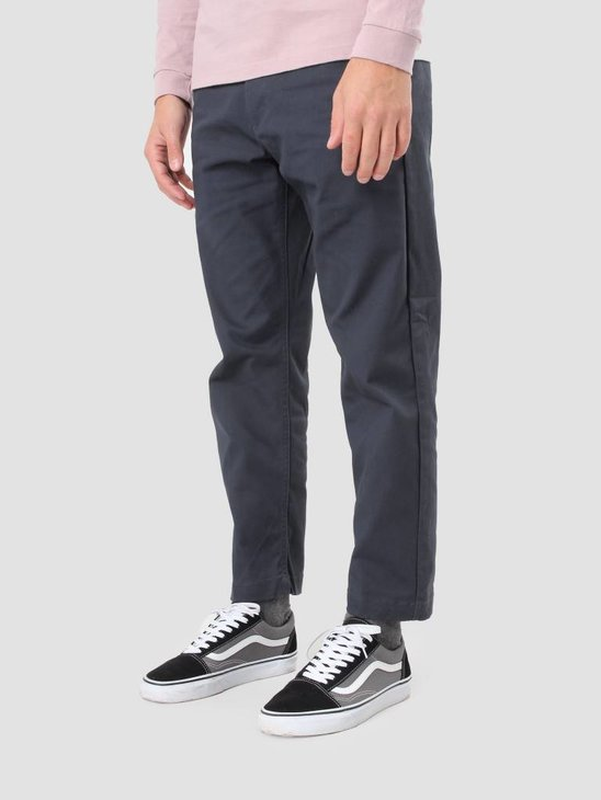 Obey Straggler Flooded Pant Dark Ink 142020060