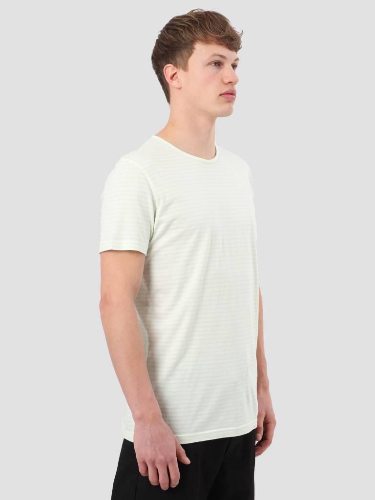 RVLT RVLT Striped T-Shirt Light Green 1005
