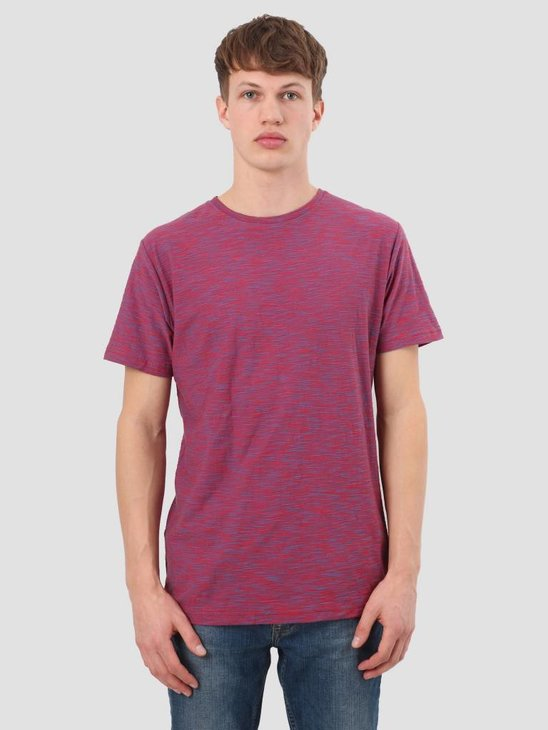 RVLT Striped T-Shirt Red 1935