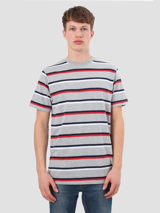 RVLT Stripes T-Shirt Red 1937