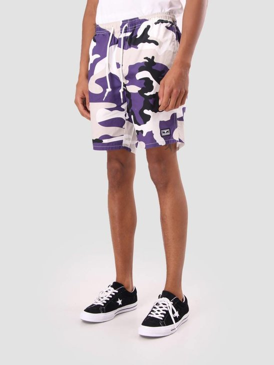 Obey Subversion Short Field Purple 172120029