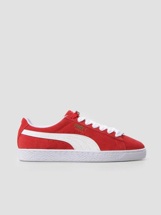 Puma Suede Classic BBOY Fabulous Flame Scarlet White 36536202