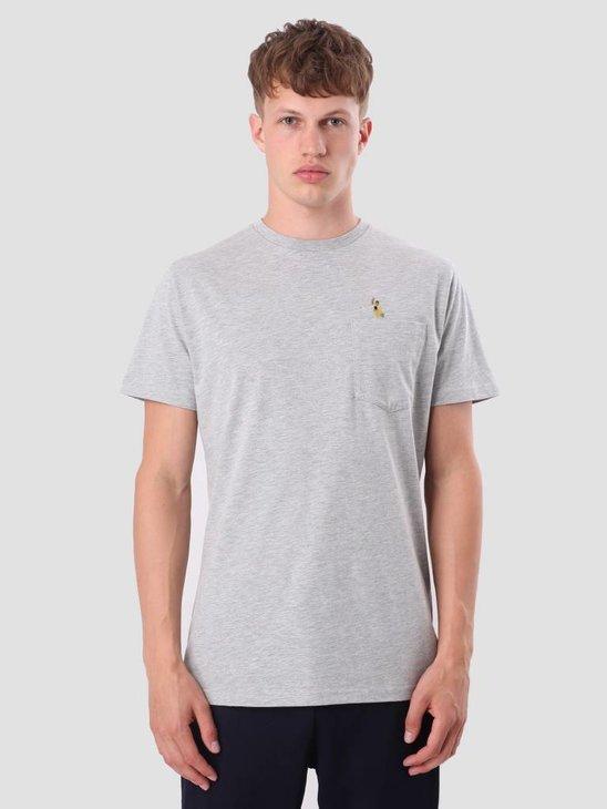 RVLT Sverre T-Shirt Grey-Mel 1979 PEL