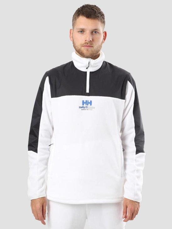 Helly Hansen Sweet Skateboards Half Zipped Jacka white Black 62019200