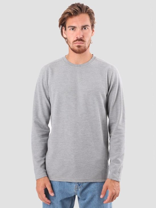 RVLT Tage Long Sleeved T-Shirt Grey 1970