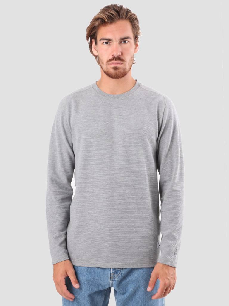RVLT RVLT Tage Long Sleeved T-Shirt Grey 1970