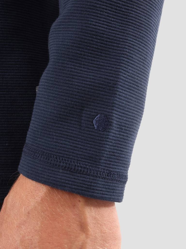 RVLT RVLT Tage Long Sleeved T-Shirt Navy 1970