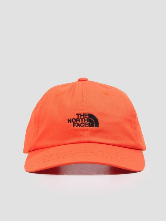 The North Face The Norm Hat Persian Orange TNF Black T9355W3LZ