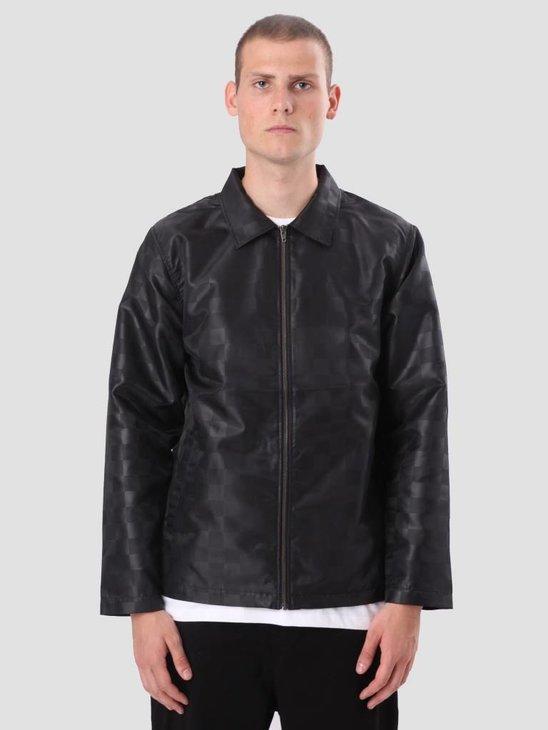 Stussy Tonal Check Jacket Black 115401