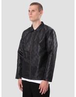 Stussy Stussy Tonal Check Jacket Black 115401