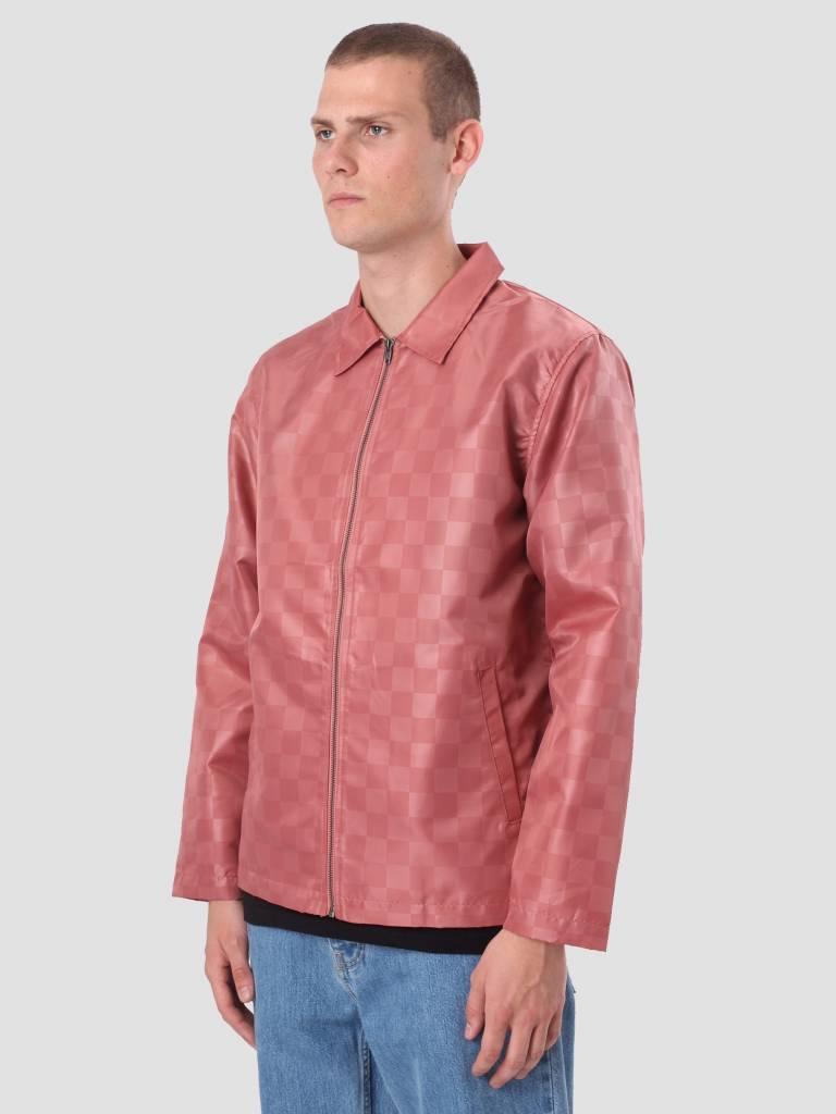 Stussy Stussy Tonal Check Jacket Rose 115401