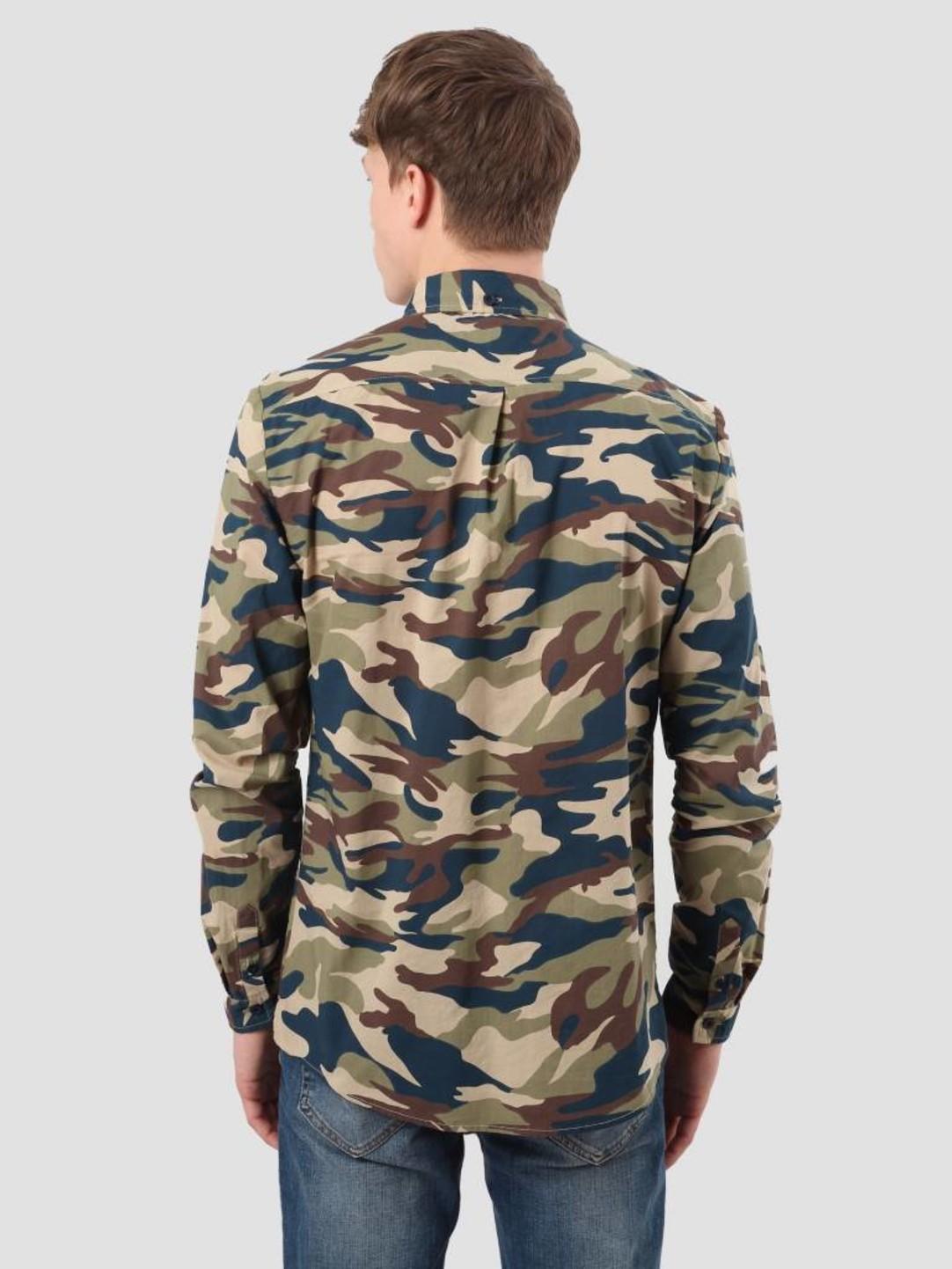 RVLT RVLT Tonal Shirt Camo 3611