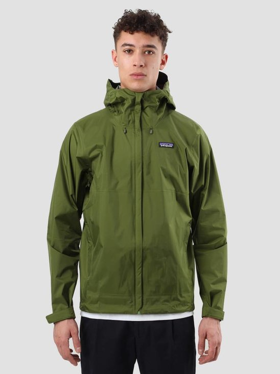 Patagonia Torrentshell Jacket Sprouted Green 83802