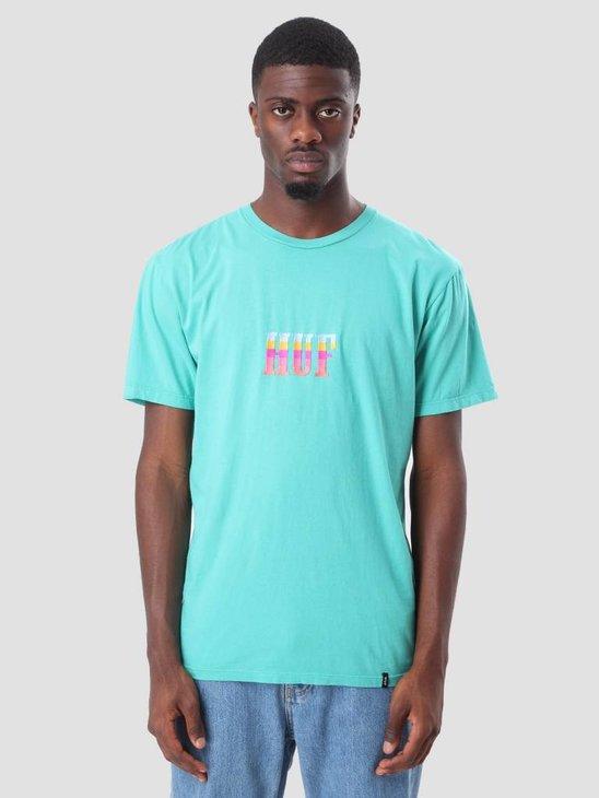 HUF Tourist T-Shirt Bright Aqua TS00264