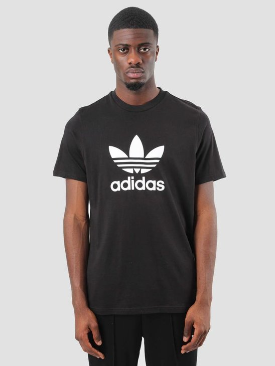 adidas Trefoil T-Shirt Black Cw0709
