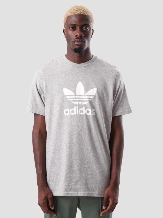 adidas Trefoil T-Shirt Mgreyh CY4574