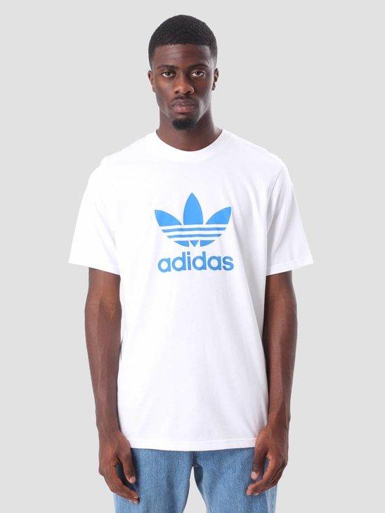 adidas Trefoil T-Shirt White Bluebird DH5774