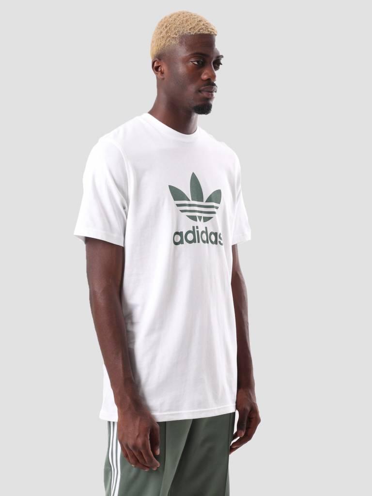 adidas adidas Trefoil T-Shirt White Tragrn DH5773