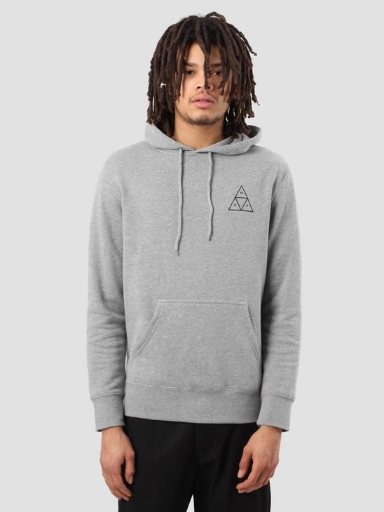 HUF Triple Triangle Hoodie Grey Heather FLBSC0020GYHTR