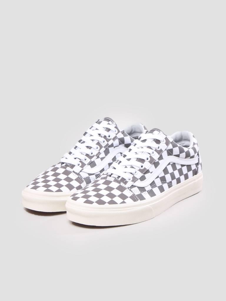 Vans Vans Ua Old Skool Checkerboard Pewter Marshmallow VN0A38G1U531